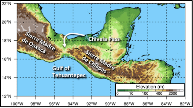 Chivela Pass in Mexico