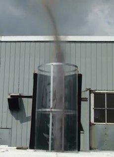 One of Michaud's AVE (Atmospheric Vortex Engine) prototypes.