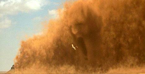 That dust is a killer... a hurricane killer.