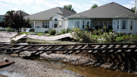 The Colorado rains have truly desvastated the region. What could have caused so much damage?