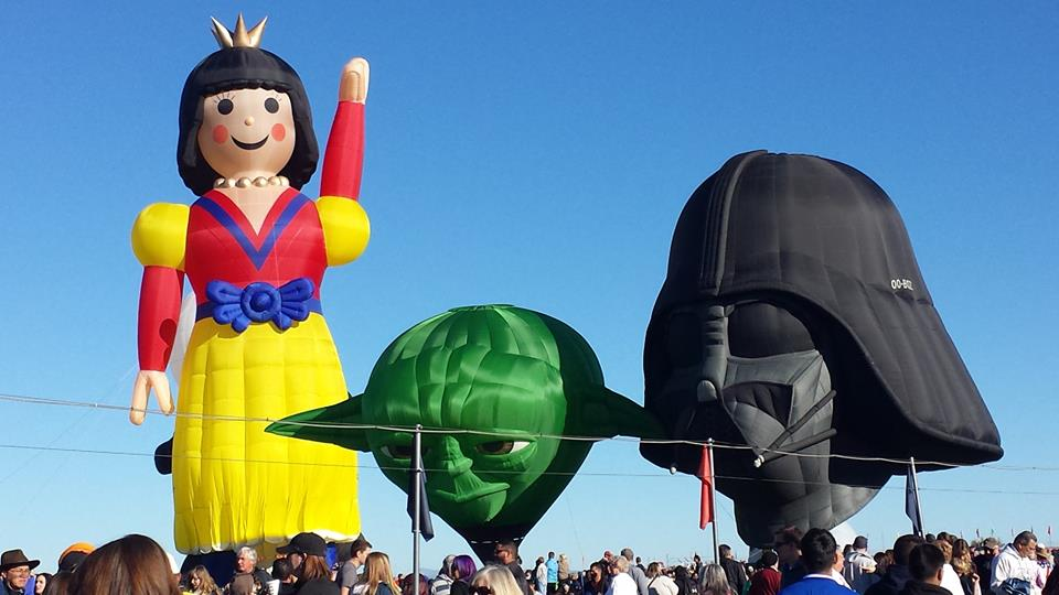 Yoda was a brand new balloon this year!